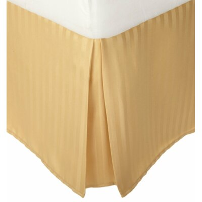 Patric Bed Skirt Size: King, Color: Gold