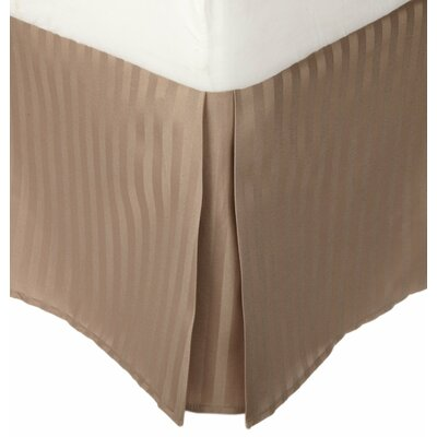 Patric Bed Skirt Size: King, Color: Taupe