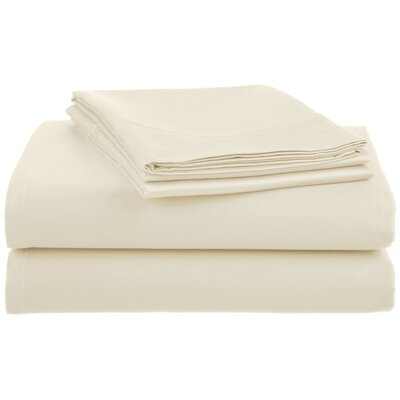 Lansdowne  500 Thread Count Sheet Set Size: King, Color: Ivory