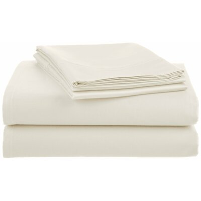 Lansdowne  500 Thread Count Sheet Set Size: Full, Color: White