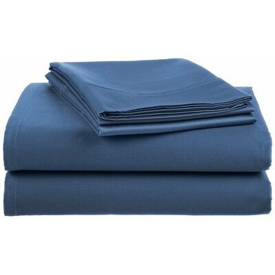 Lansdowne  500 Thread Count Sheet Set Color: Denim, Size: Full