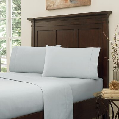 Lansdowne 800 Thread Count Sheet Set Size: Full, Color: Pearl Blue