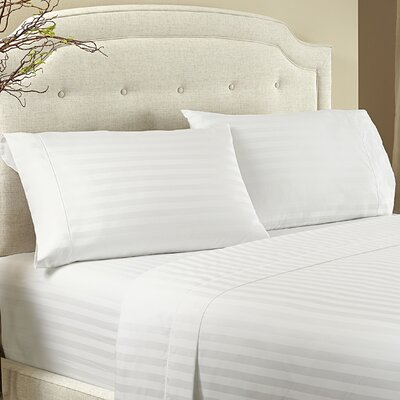 Lansdowne Pillowcase Size: Standard, Color: Snow White