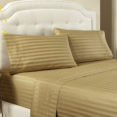 Lansdowne Pillowcase Size: Standard, Color: Praire Gold