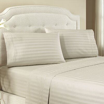 Lansdowne Pillowcase Size: Standard, Color: Mud