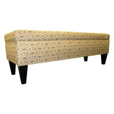 Tusarora Two Seat Bench with Storage Color: Bonjour Blush