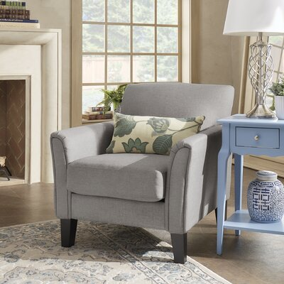 Minisink Arm Chair Upholstery: Gray