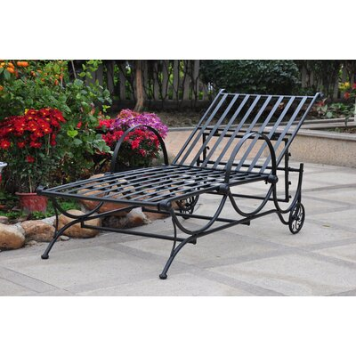 Snowberry Chaise Lounger Finish: Black