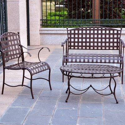 Snowberry 3 Piece Lounge Seating Group