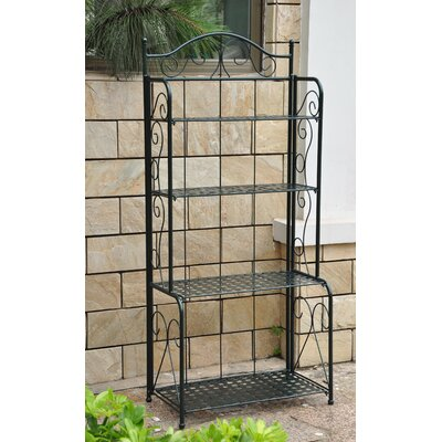 Snowberry 4 Tier Indoor/Outdoor Baker's Rack Finish: Vertigris
