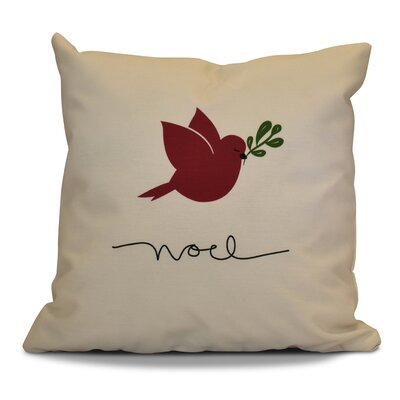 Decorative Holiday Throw Pillow Size: 18 H x 18 W