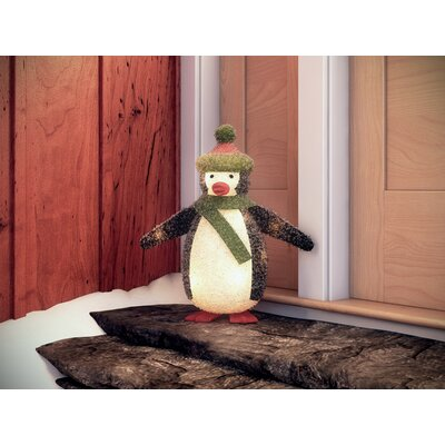 Penguin Christmas Decoration with 35 Clear Lights