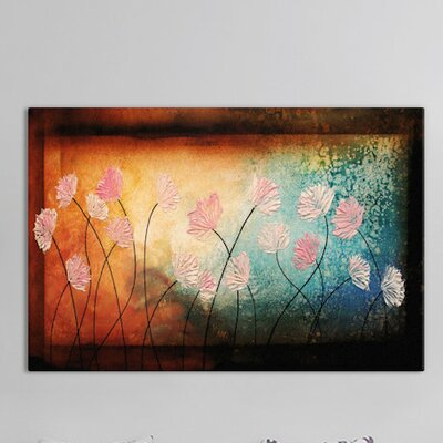 After the Rain Painting Print on Wrapped Canvas Size: 18