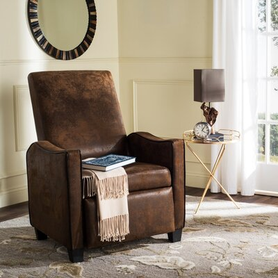 Kittinger Recliner Color: Tan/Brown