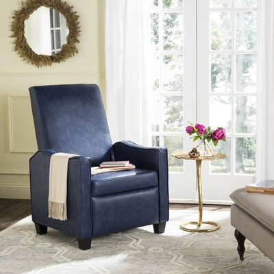 Austin Recliner Color: Navy