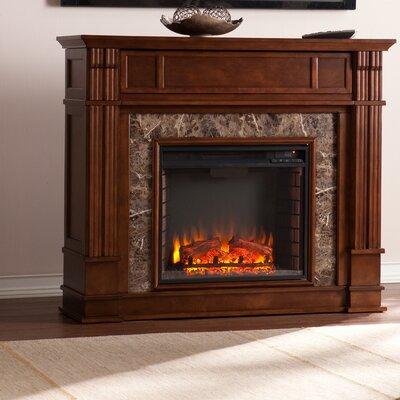 Zaftig Heartwood Electric Fireplace