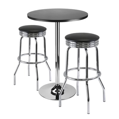 Clarksburg 3 Piece Pub Table Set