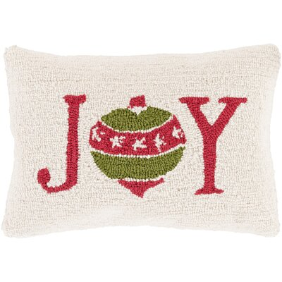 Joy Winter Pillow Cover Fill Type: Down