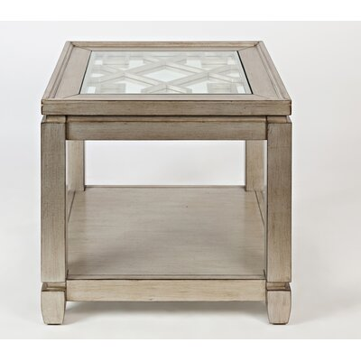 Stillwater End Table Color: Champagne