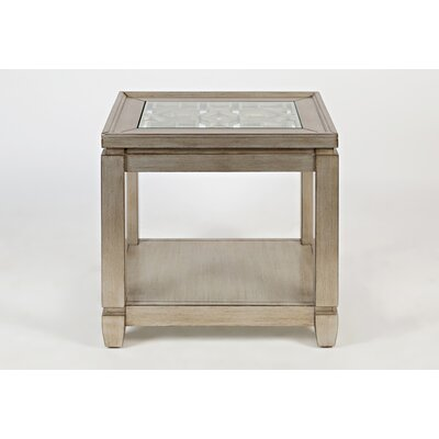 Stillwater Chairside Table Color: Silver