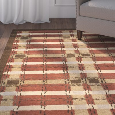 Watertown Hand-Tufted Rust Area Rug