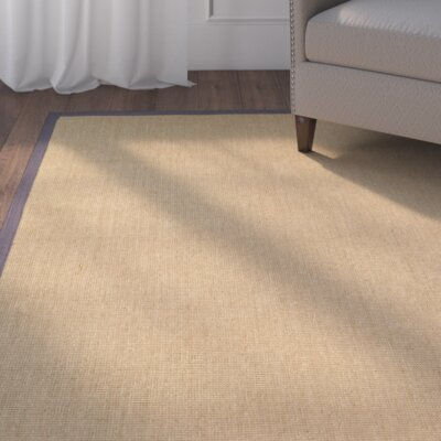 Sharpsburg Tan Area Rug Rug Size: 4 x 6