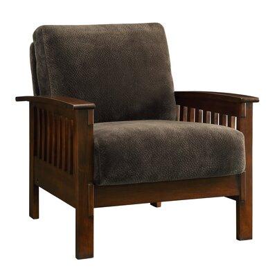 Wayne Mission Fabric Arm Chair
