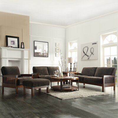 Wayne 4 Piece Living Room Set