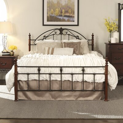Wedgewood Panel Bed Size: King