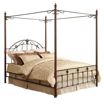 Wedgewood Canopy Bed Size: King