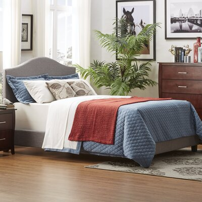 Crockett Upholstered Platform Bed Size: King