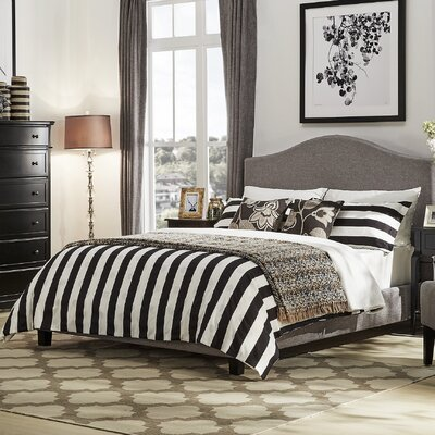 Crockett Upholstered Platform Bed Size: Queen