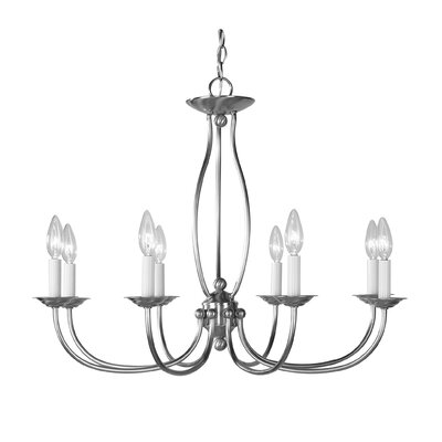 Williams 8-Light Candle-Style Chandelier
