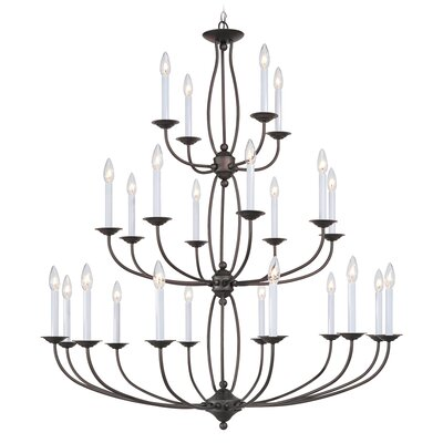 Williams 24-Light Candle-Style Chandelier