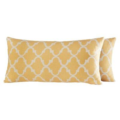Wilmer Kidney Fabric Lumbar Pillow