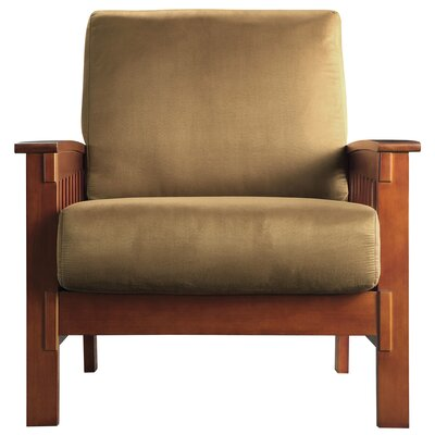 Winnifred Mission Arm Chair