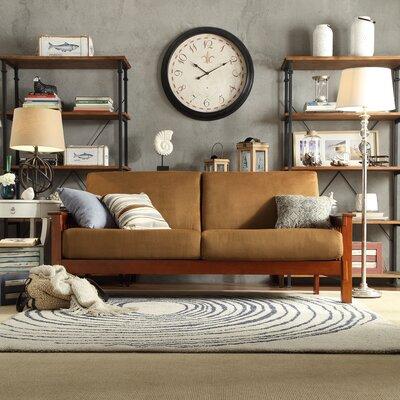 Winnifred Mission Sofa Upholstery: Rust
