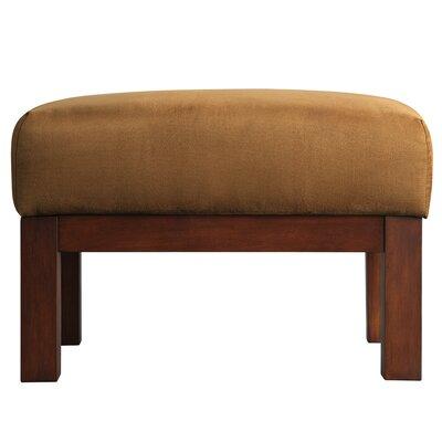 Winnifred Ottoman Upholstery: Rust