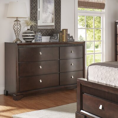 Akins 6 Drawer Dresser