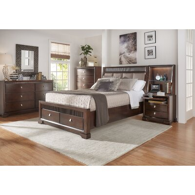 Akins Upholstered Platform Configurable Bedroom Set