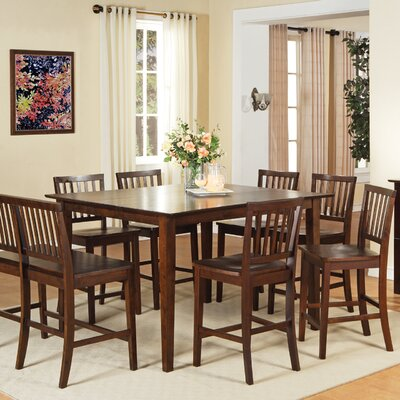 Barrymore Counter Height Dining Table Finish: Multi-Step Rich Espresso