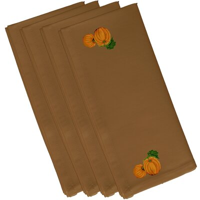 Pumpkin Patch Holiday Print Napkin