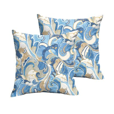 Renningers Indoor/Outdoor Throw Pillow Size: 22 H x 22 W