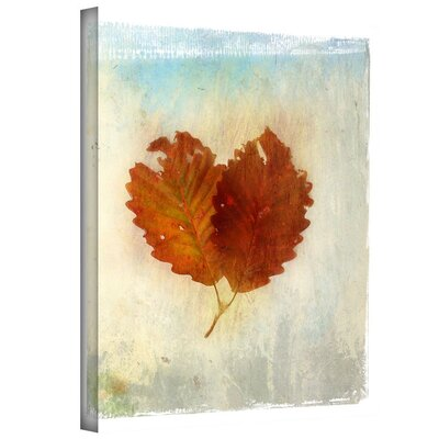 Leaf Iii Painting Print on Wrapped Canvas
