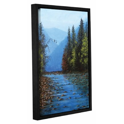Framed Painting Print on Wrapped Canvas Size: 18