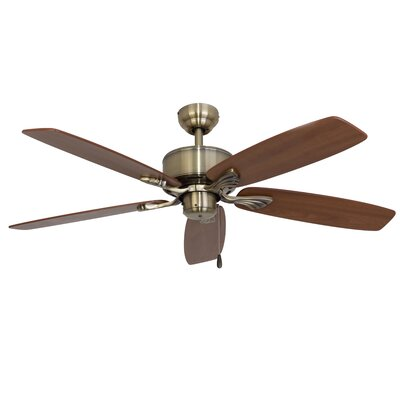 52 Tamesbury 5-Blade Indoor Ceiling Fan with Remote