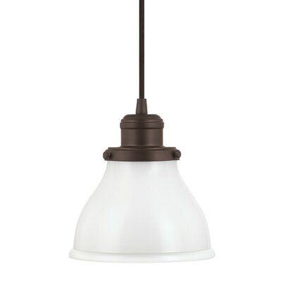 Chesterton 1-Light Mini Pendant Finish: Burnished Bronze
