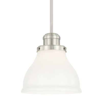 Chesterton 1-Light Bowl Pendant Finish: Brushed Nickel