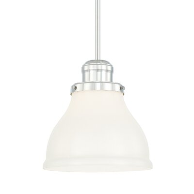 Chesterton 1-Light Bowl Pendant Finish: Polished Nickel