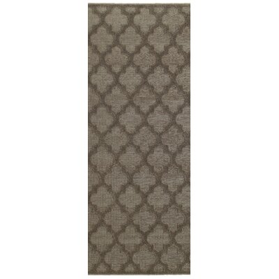 Lacon Brown Area Rug Rug Size: Runner 22 x 76